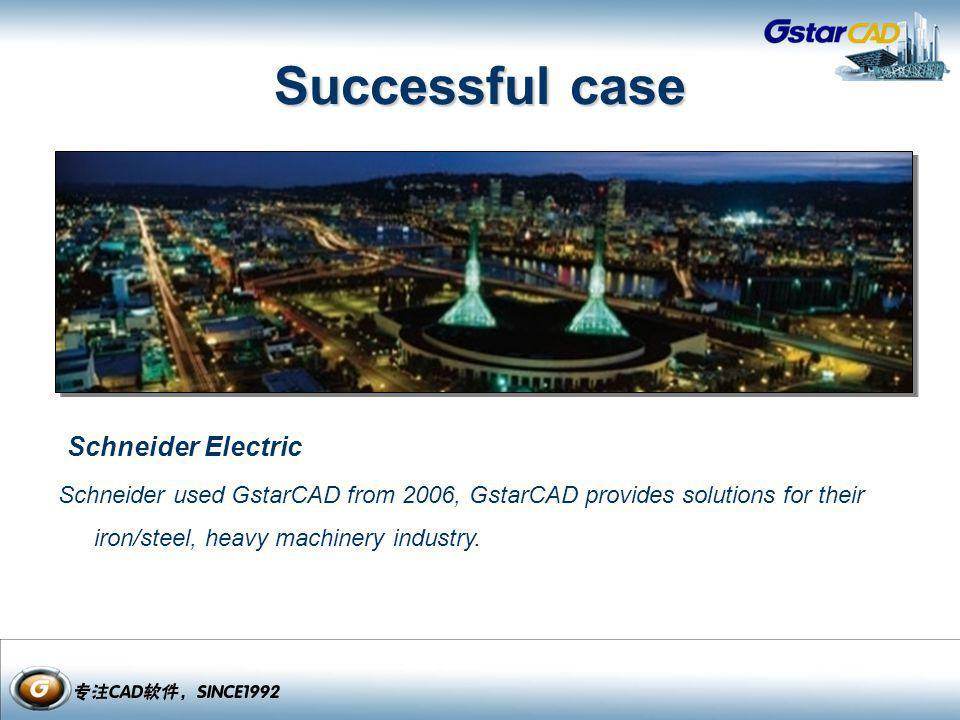 Successful case Schneider Electric