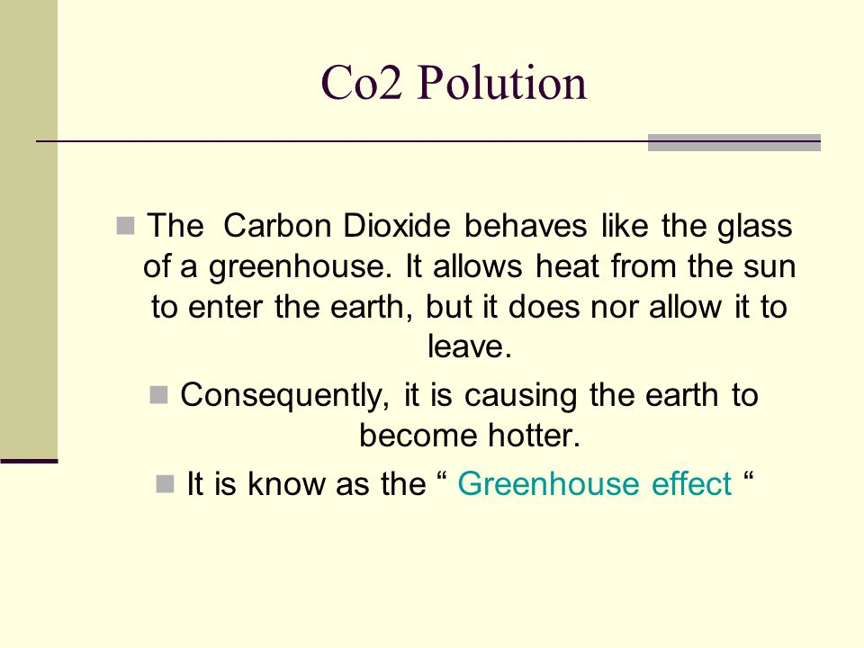 Co2 Polution