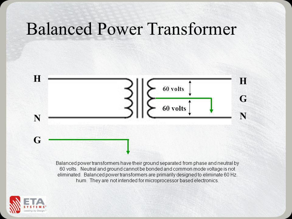 Balanced Power Transformer