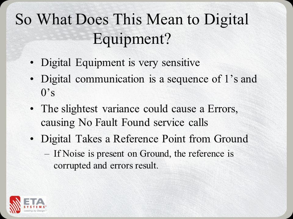 So What Does This Mean to Digital Equipment