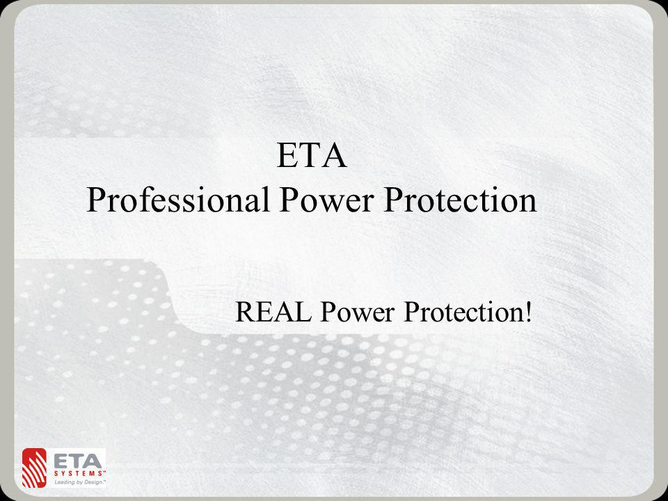 ETA Professional Power Protection