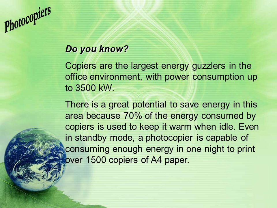Photocopiers Do you know