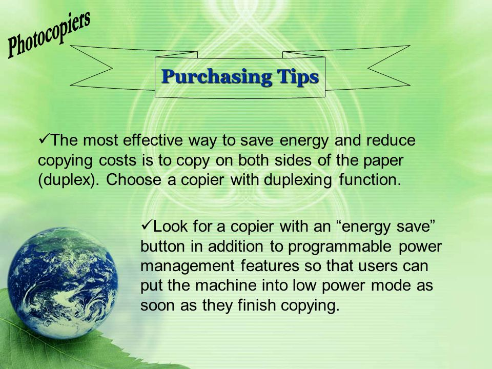 Photocopiers Purchasing Tips