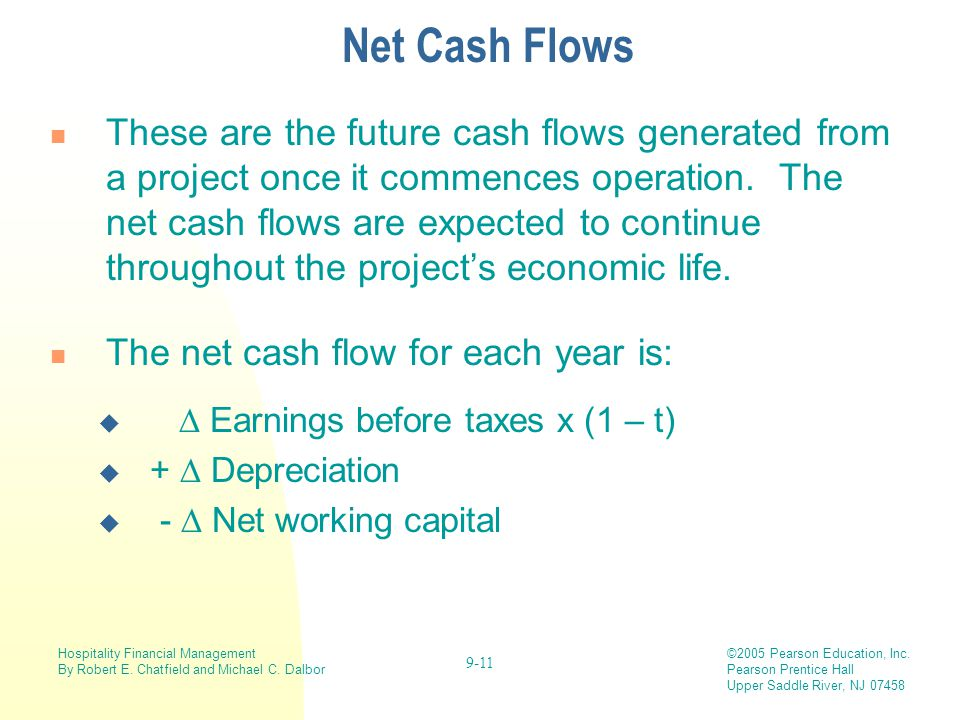Net Cash Flows
