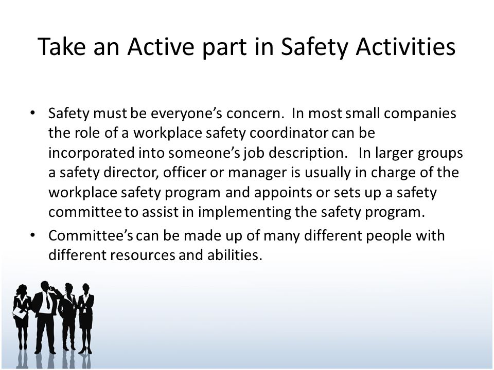 Creating A Safety Program For Your Small Business  Ppt Video Online