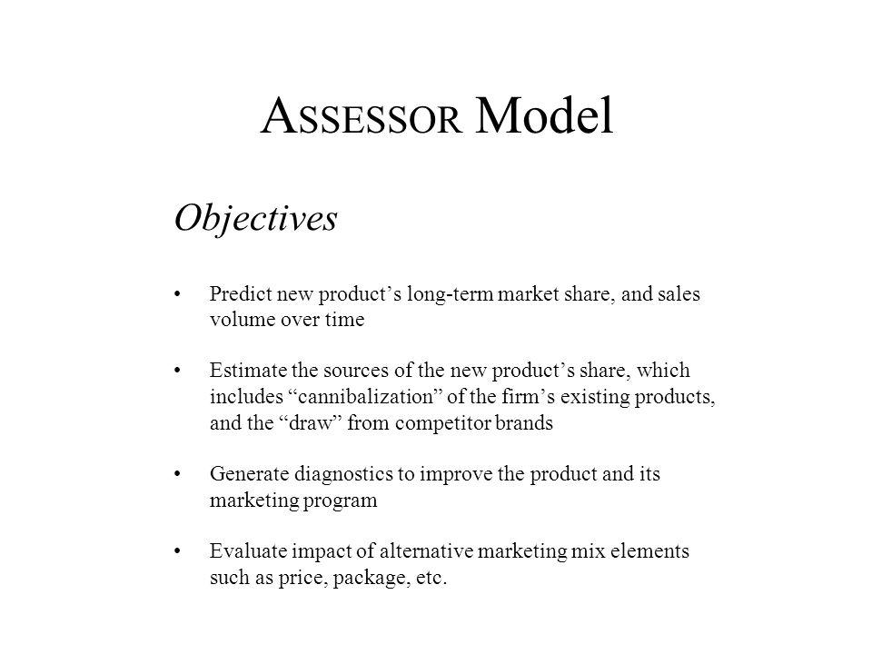 ASSESSOR Model Objectives