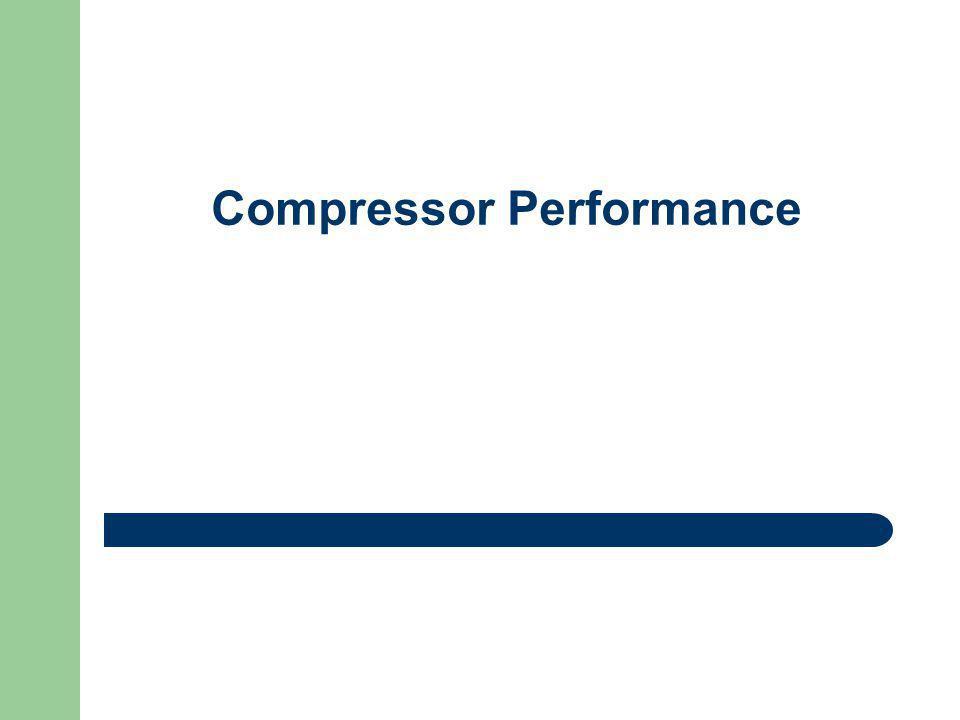 Compressor Performance