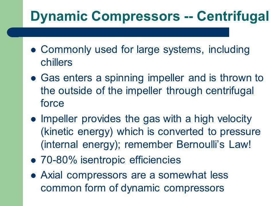Dynamic Compressors -- Centrifugal