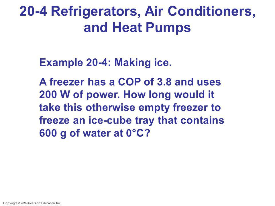 20-4 Refrigerators, Air Conditioners, and Heat Pumps