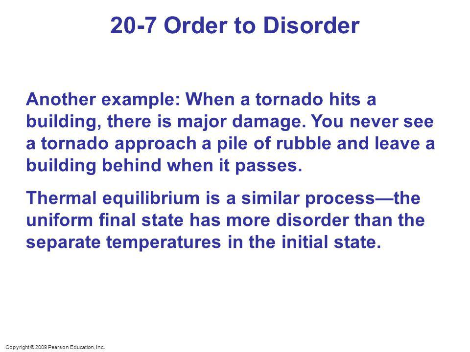 20-7 Order to Disorder