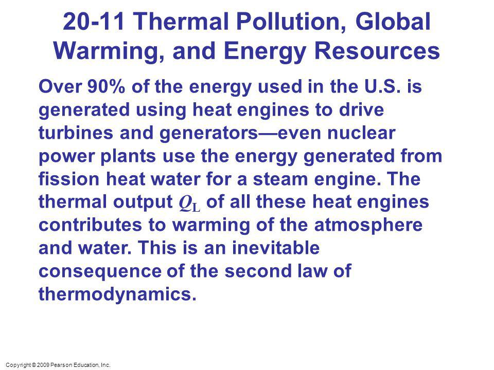 20-11 Thermal Pollution, Global Warming, and Energy Resources