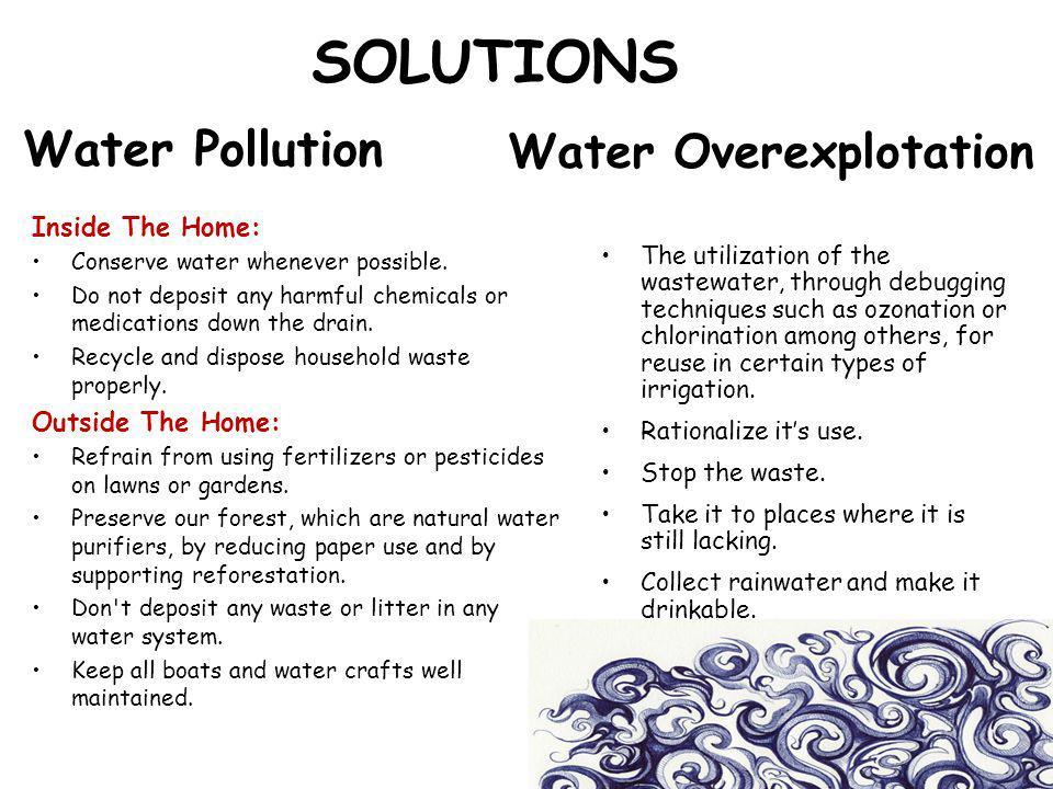 Water Overexplotation