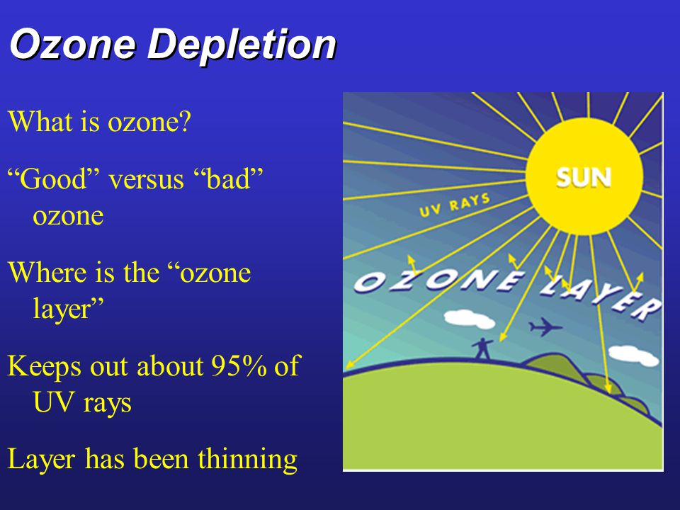 Section 9 And 10 Ozone Depletion Ppt Video Online Download