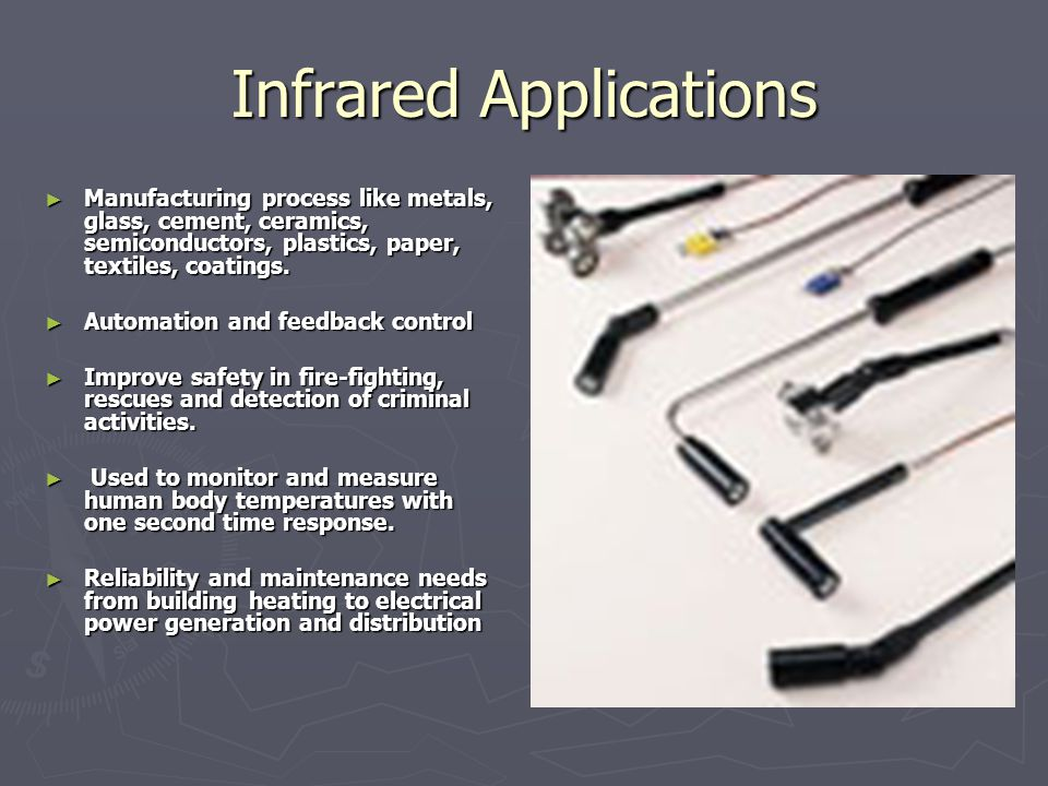 Infrared Applications