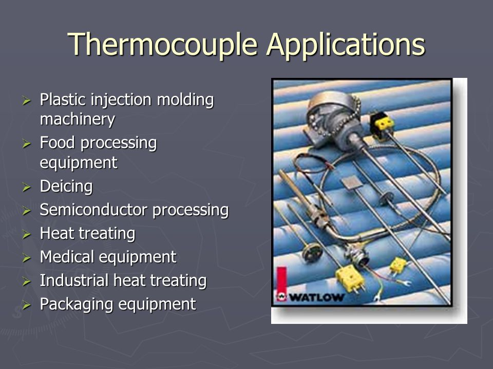 Thermocouple Applications