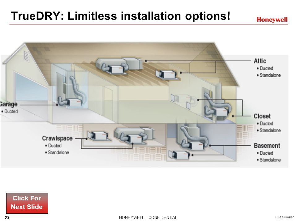 TrueDRY: Limitless installation options!