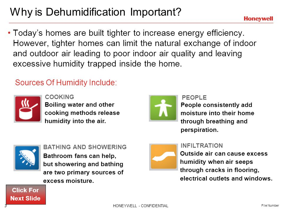 Why is Dehumidification Important