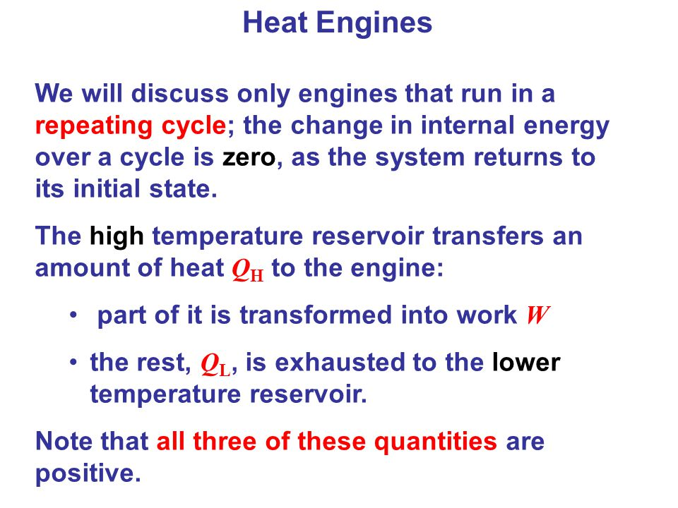 Heat Engines