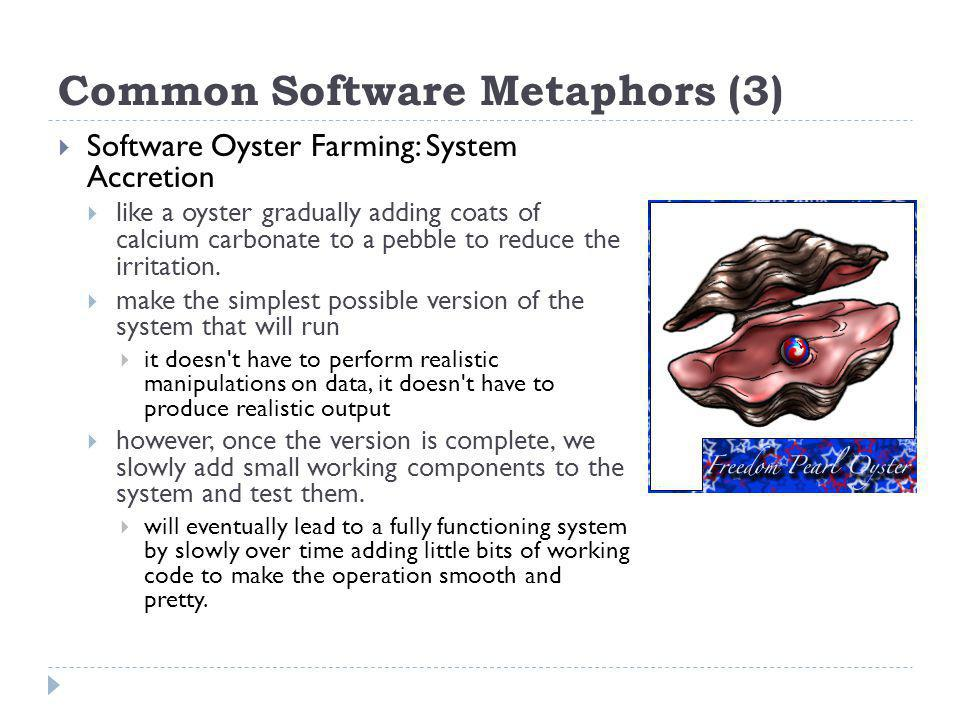 Common Software Metaphors (3)