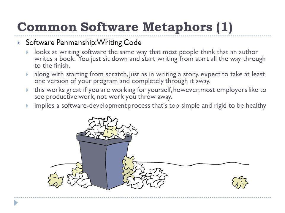 Common Software Metaphors (1)