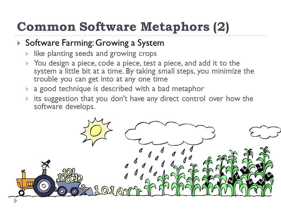Common Software Metaphors (2)