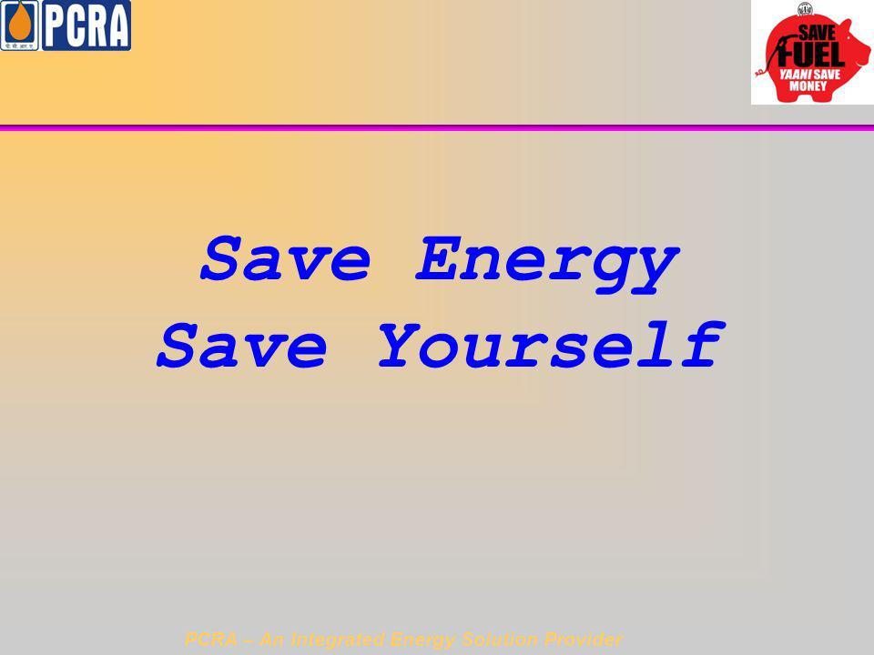 Save Energy Save Yourself