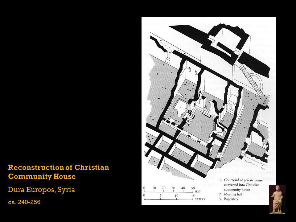 Reconstruction of Christian Community House Dura Europos, Syria