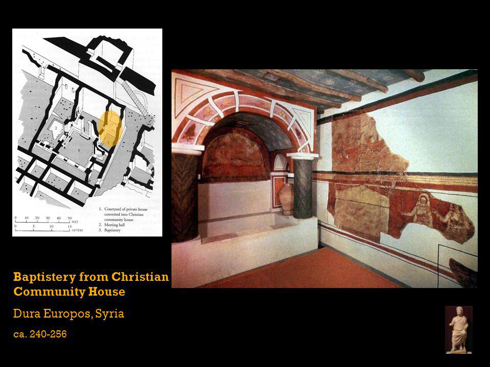 Baptistery from Christian Community House Dura Europos, Syria
