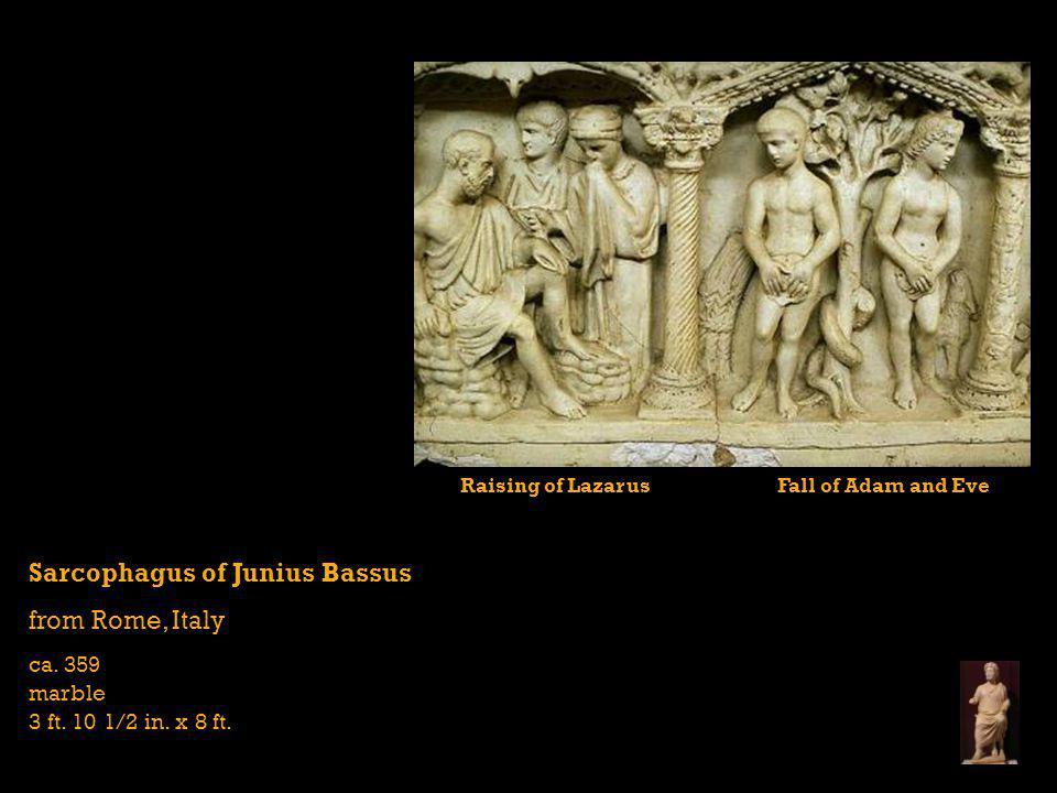 Sarcophagus of Junius Bassus from Rome, Italy