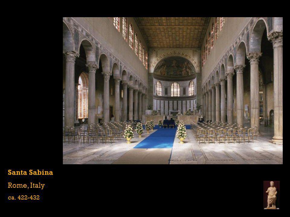 Santa Sabina Rome, Italy ca. 422-432