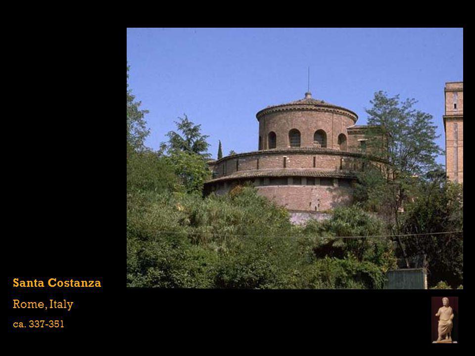 Santa Costanza Rome, Italy ca. 337-351