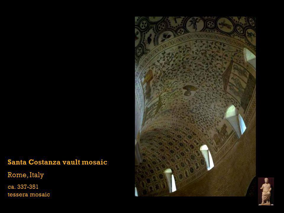 Santa Costanza vault mosaic Rome, Italy
