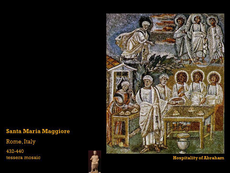 Santa Maria Maggiore Rome, Italy 432-440 tessera mosaic