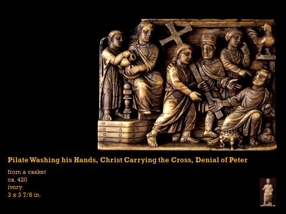 Pilate Washing his Hands, Christ Carrying the Cross, Denial of Peter