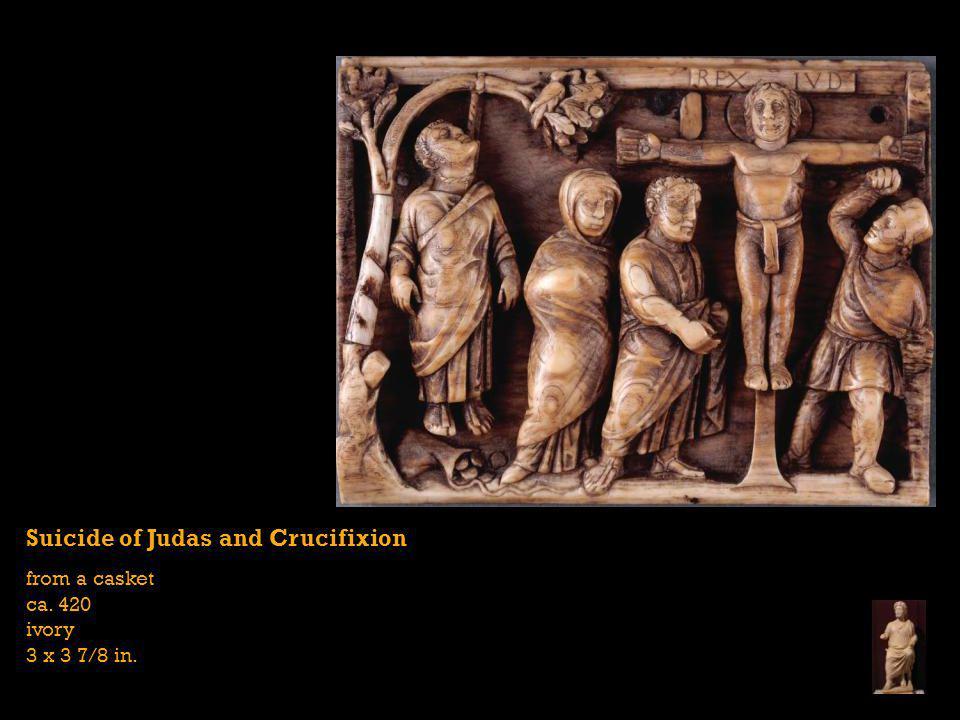 Suicide of Judas and Crucifixion