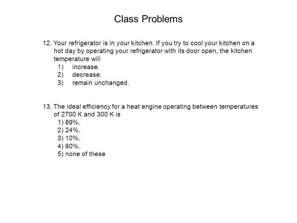 Class Problems