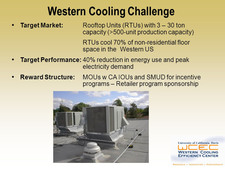 Western Cooling Challenge