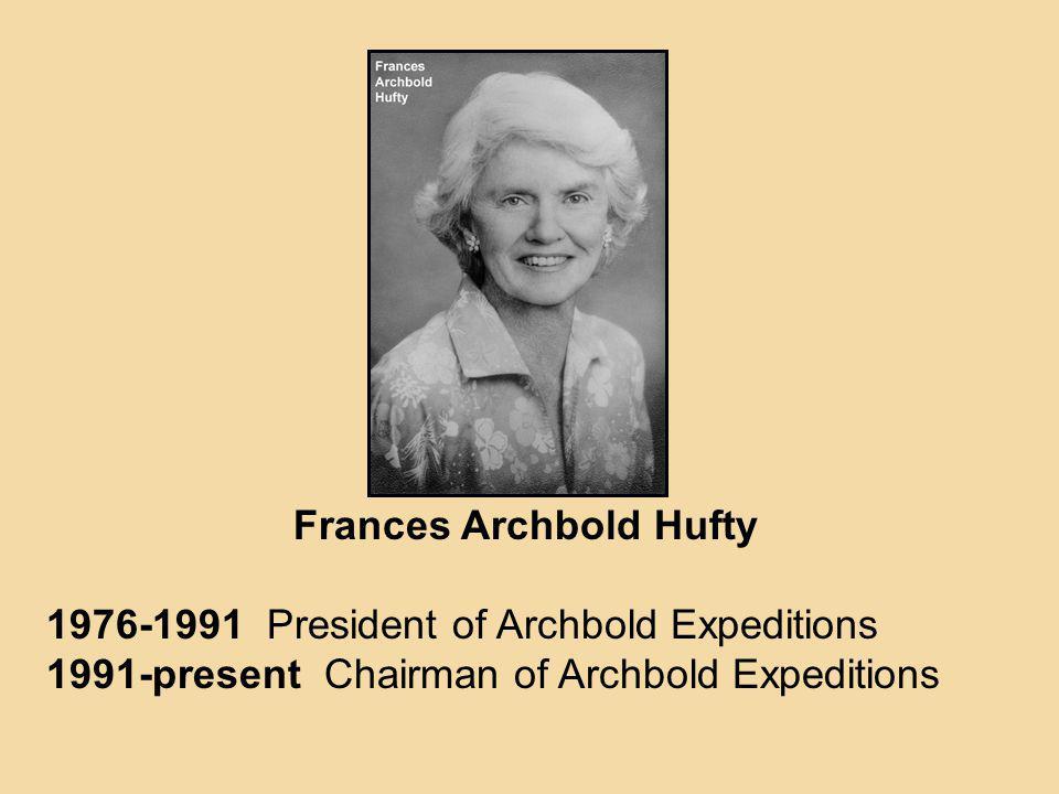 Frances Archbold Hufty