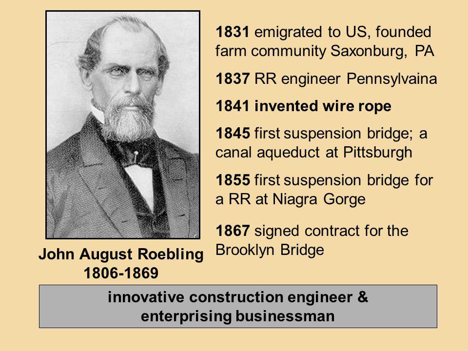 innovative construction engineer & enterprising businessman