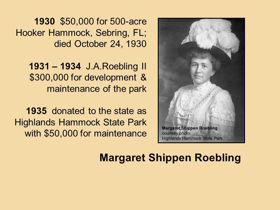Margaret Shippen Roebling