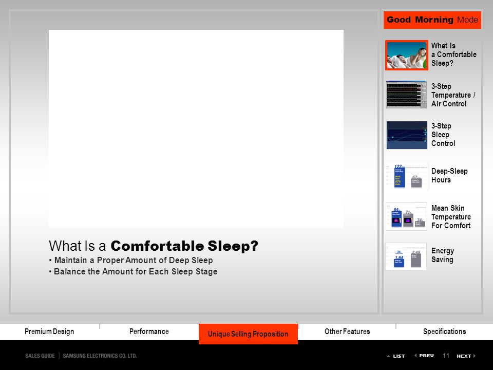 What Is a Comfortable Sleep