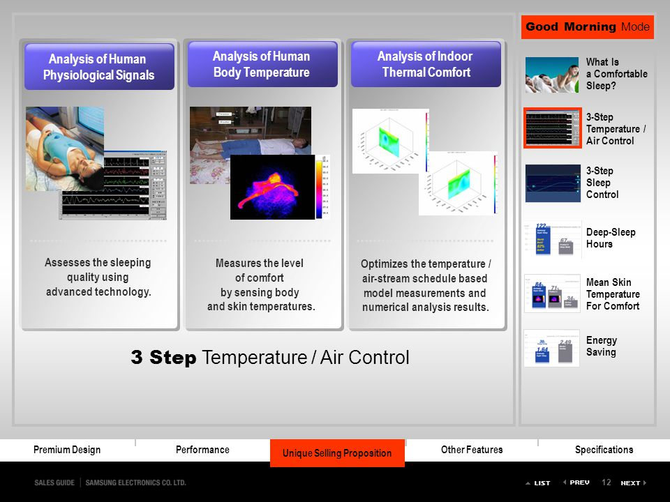 3 Step Temperature / Air Control