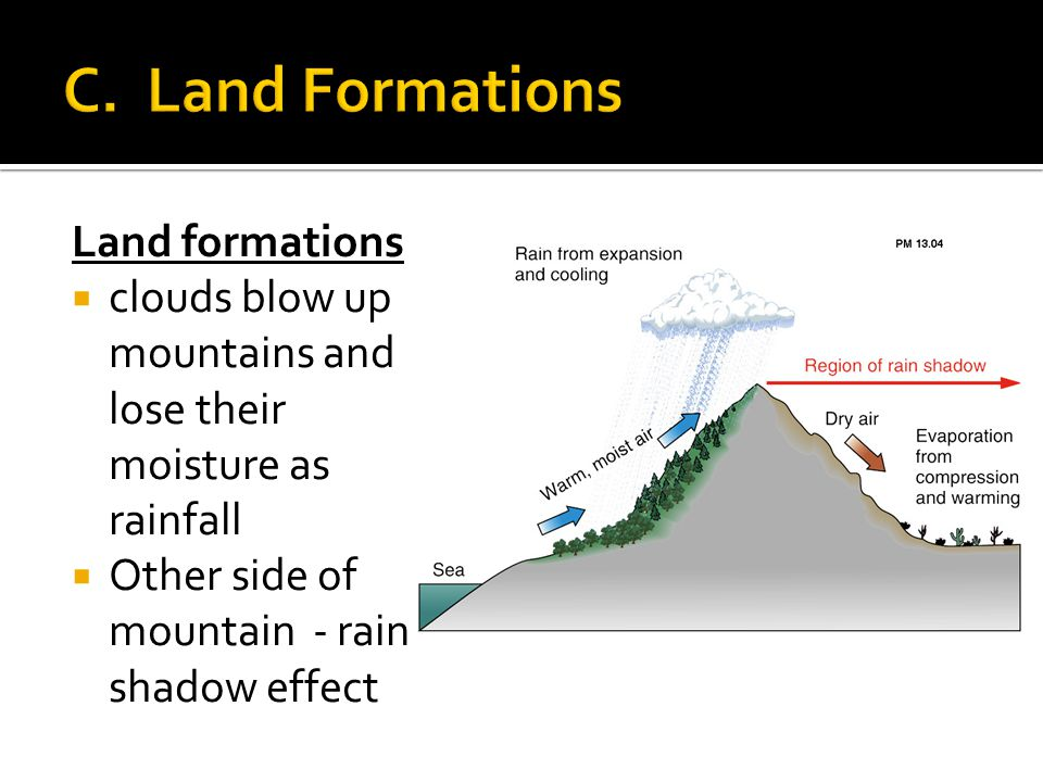 C. Land Formations Land formations