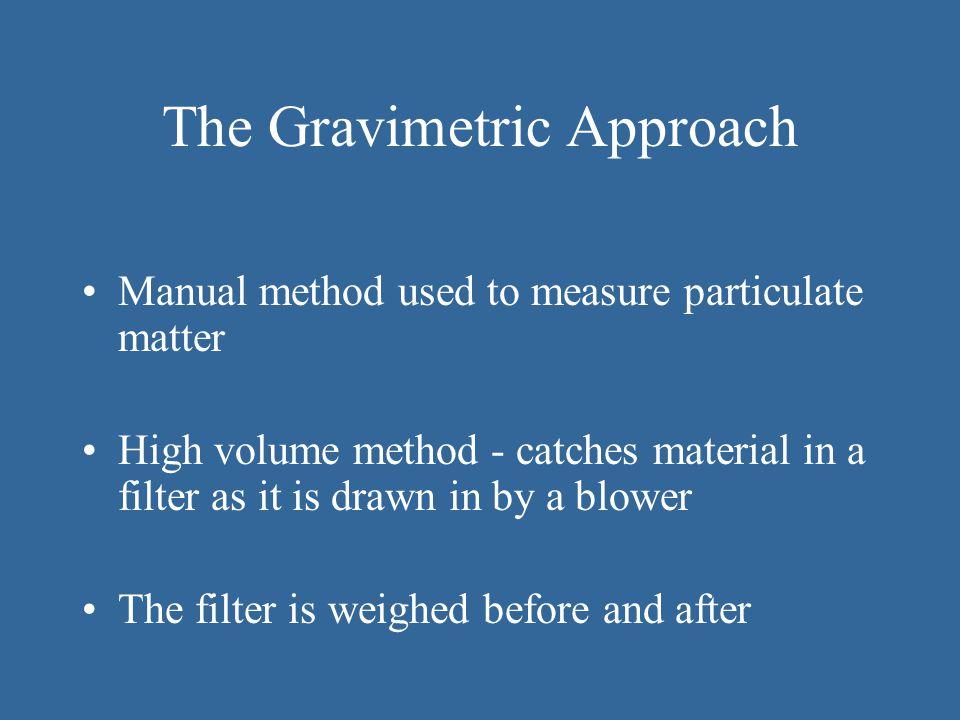 The Gravimetric Approach