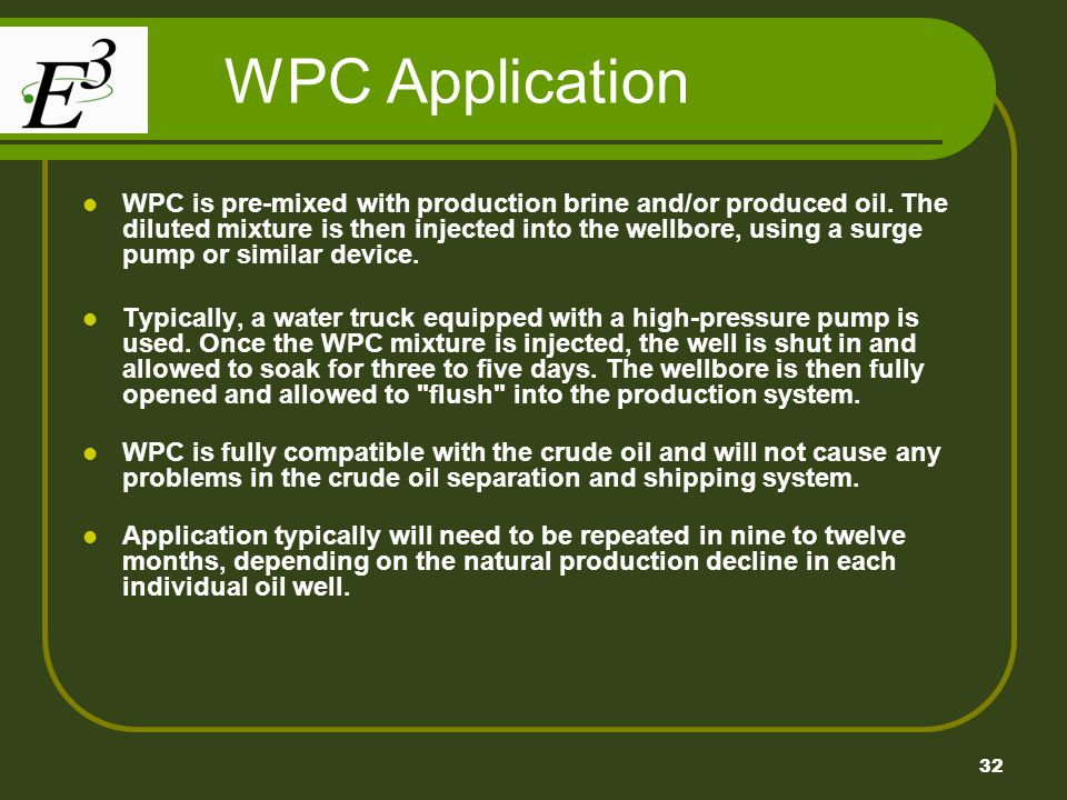 WPC Application