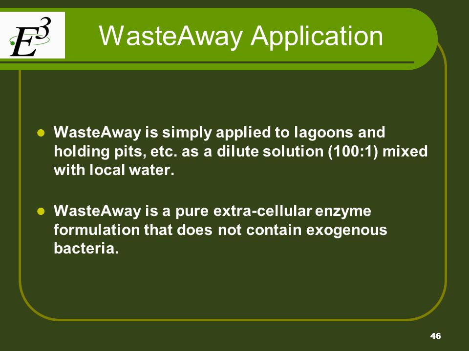 WasteAway Application