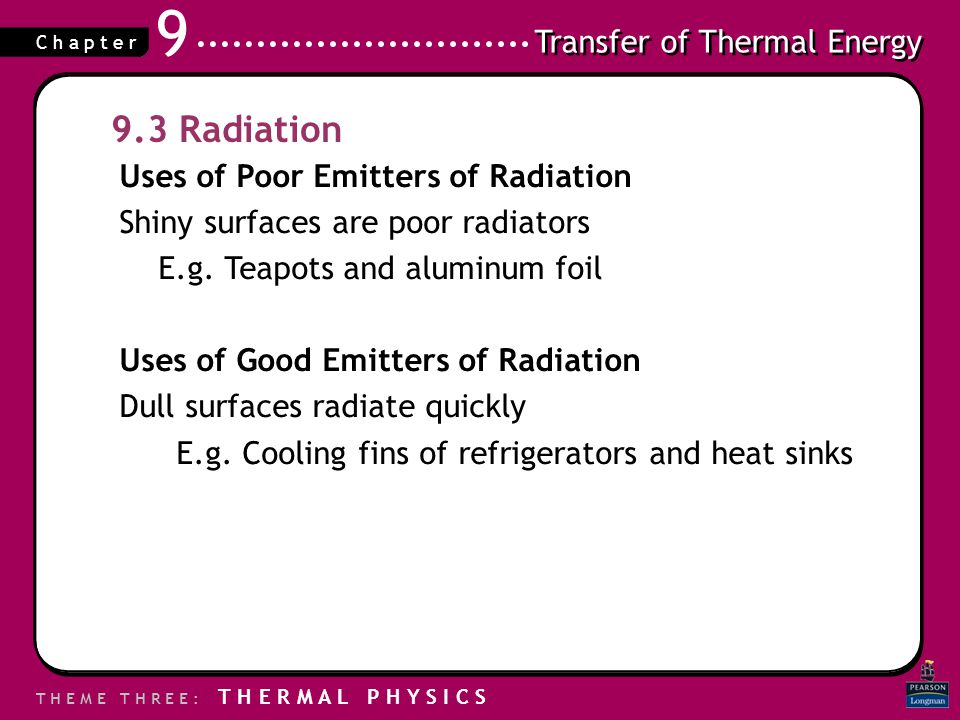 9.3 Radiation Uses of Poor Emitters of Radiation