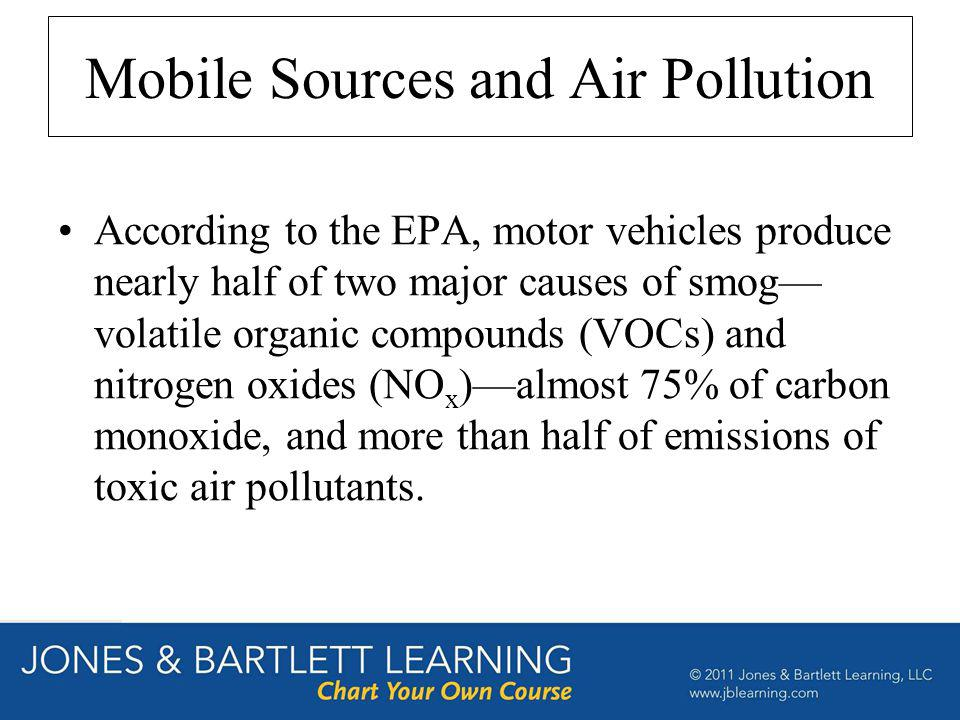 Mobile Sources and Air Pollution
