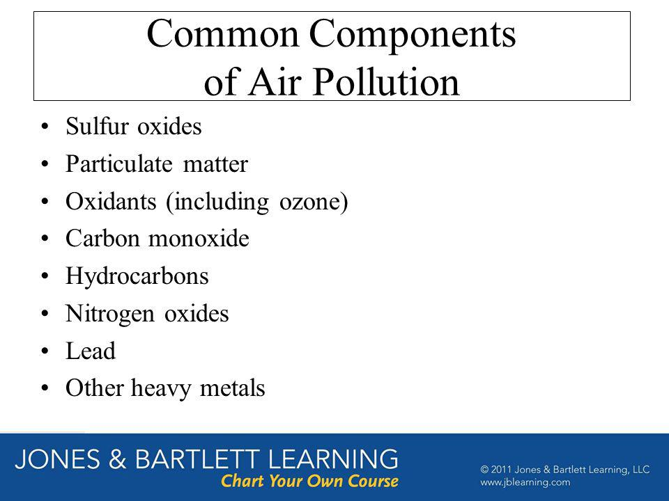 Common Components of Air Pollution