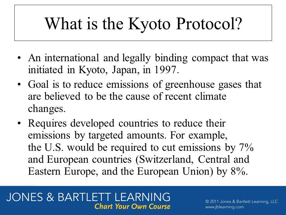 What is the Kyoto Protocol